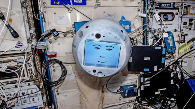 """国际空间站的智能AI,数字化面孔太""""阴间""""?"""