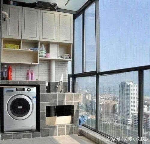 洗衣机放在哪里合适?