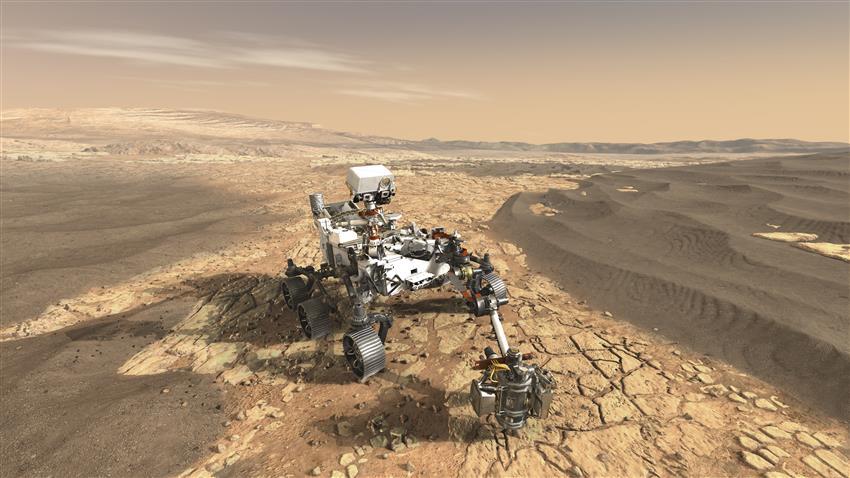 毅力号火星漫游车传回第一个科研成果,即将在火星寻找生命?