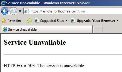 service unavailable;Service Unavailable翻译中文是什么意思啊?