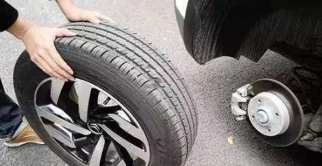汽车轮胎坏了可以只换一只吗?