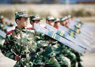 武警新兵连主要都训练什么科目?