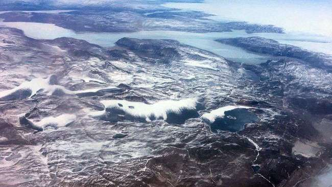 5万亿吨冰融化,格陵兰大量土地裸露,中国想投资,美国慌了