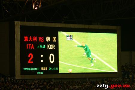 足球比赛的计分排上应该显示什么数据?