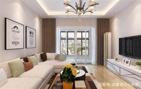 客厅白色墙配什么窗帘,窗帘选择有哪些原则?