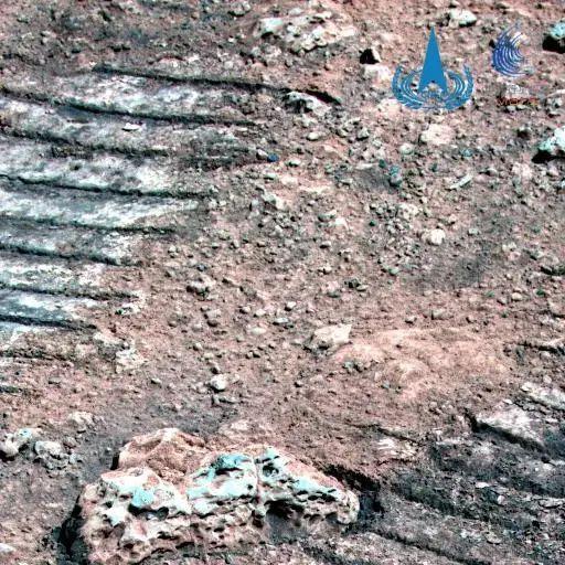 祝融号传回新火星图,为何与美国的不一样,哪个的更准确?