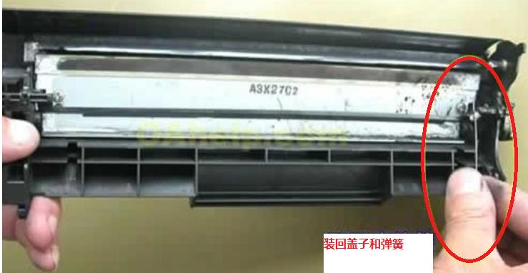 如何给打印机硒鼓换墨粉加碳粉(惠普HP、佳能、兄弟打印机图解)(图12)