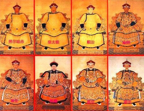 「清末皇帝顺序」清朝皇帝排列顺序