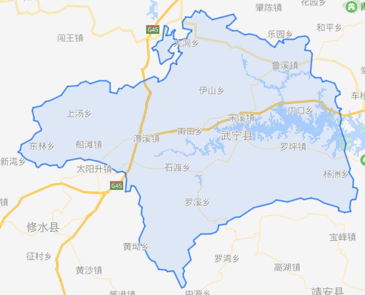 武宁县有几个乡镇