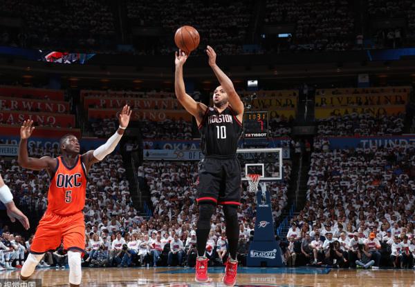 NBA季后赛火箭和雷霆都哪天比赛?