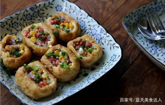 油豆腐怎么炸才能膨胀,教你一招,做的油豆腐味道好吃极了?