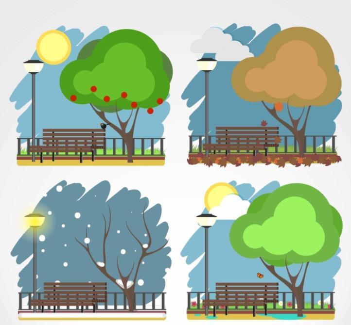 春天 夏天 秋天 冬天的英語單詞分別是什么