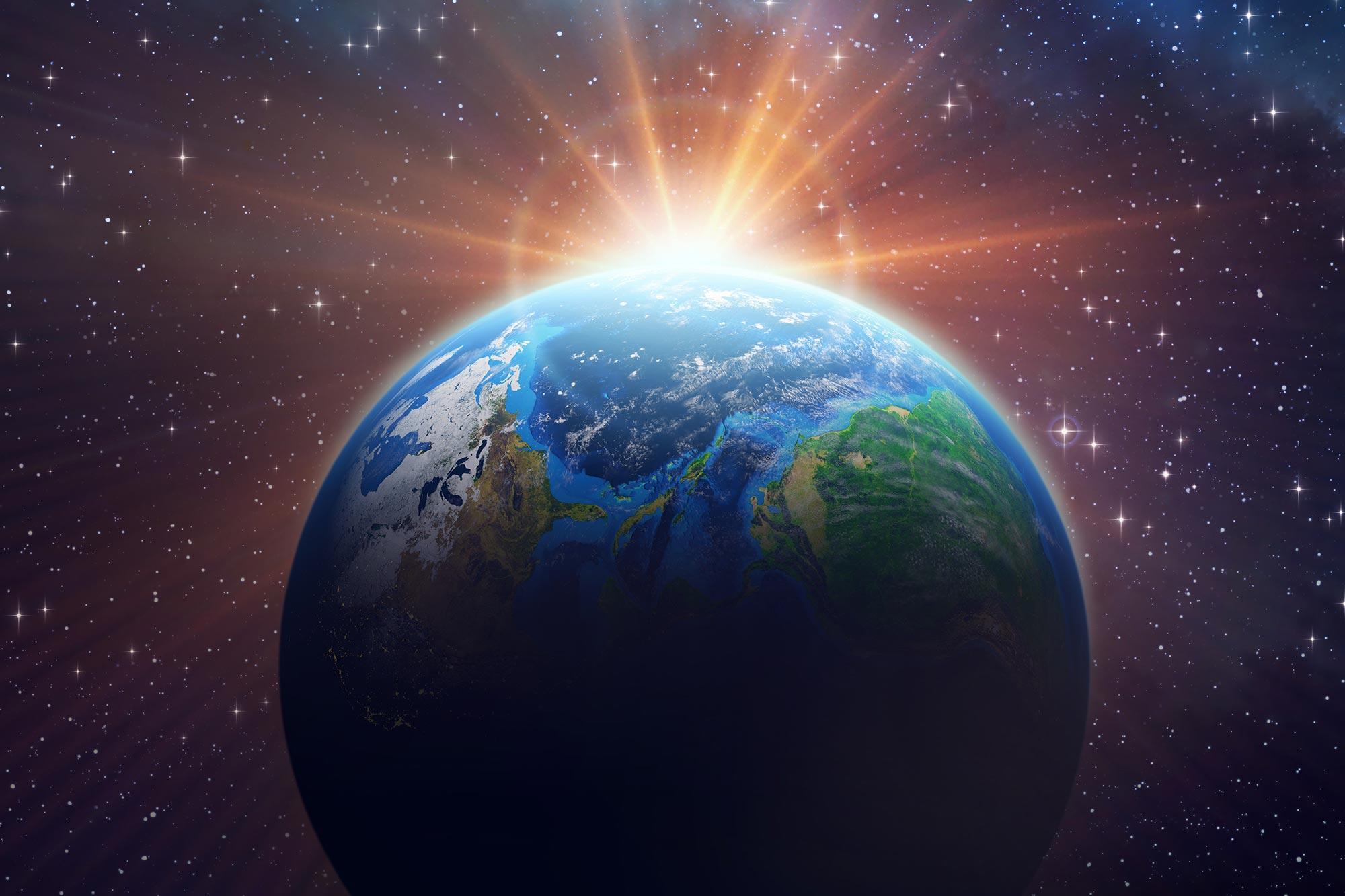 地球的气候变化,让地球变得越来越暗?