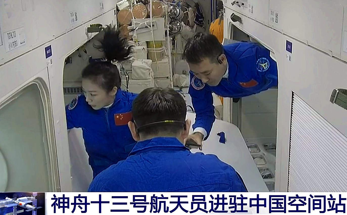 洗头洗脸洗热水澡,对于空间站里的航天员是奢侈