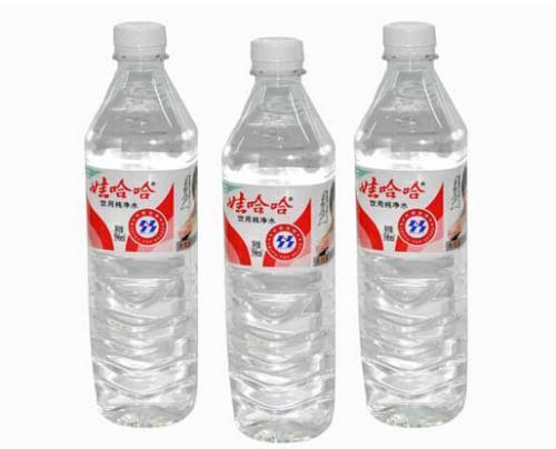 娃哈哈纯净水的主要成分是什么?