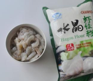 做的水晶虾饺,皮为什么不透明?