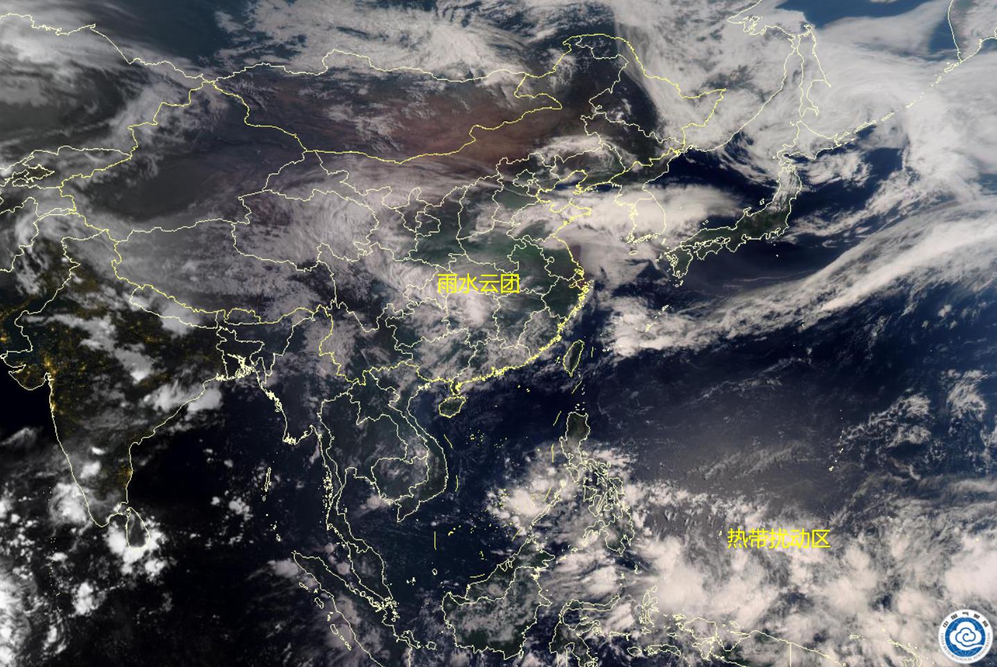 权威预报10省市有大到暴雨,96W变化大!大范围降雨又来了?