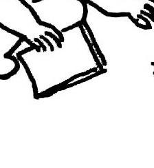 一只手拿着一本破书的图片 简笔画,素描都可以