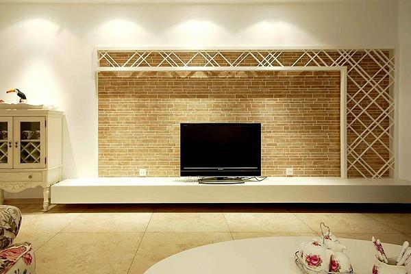 在家庭装修中电视背景是一个不可越过的设计,你觉得最好的设计是怎样的?