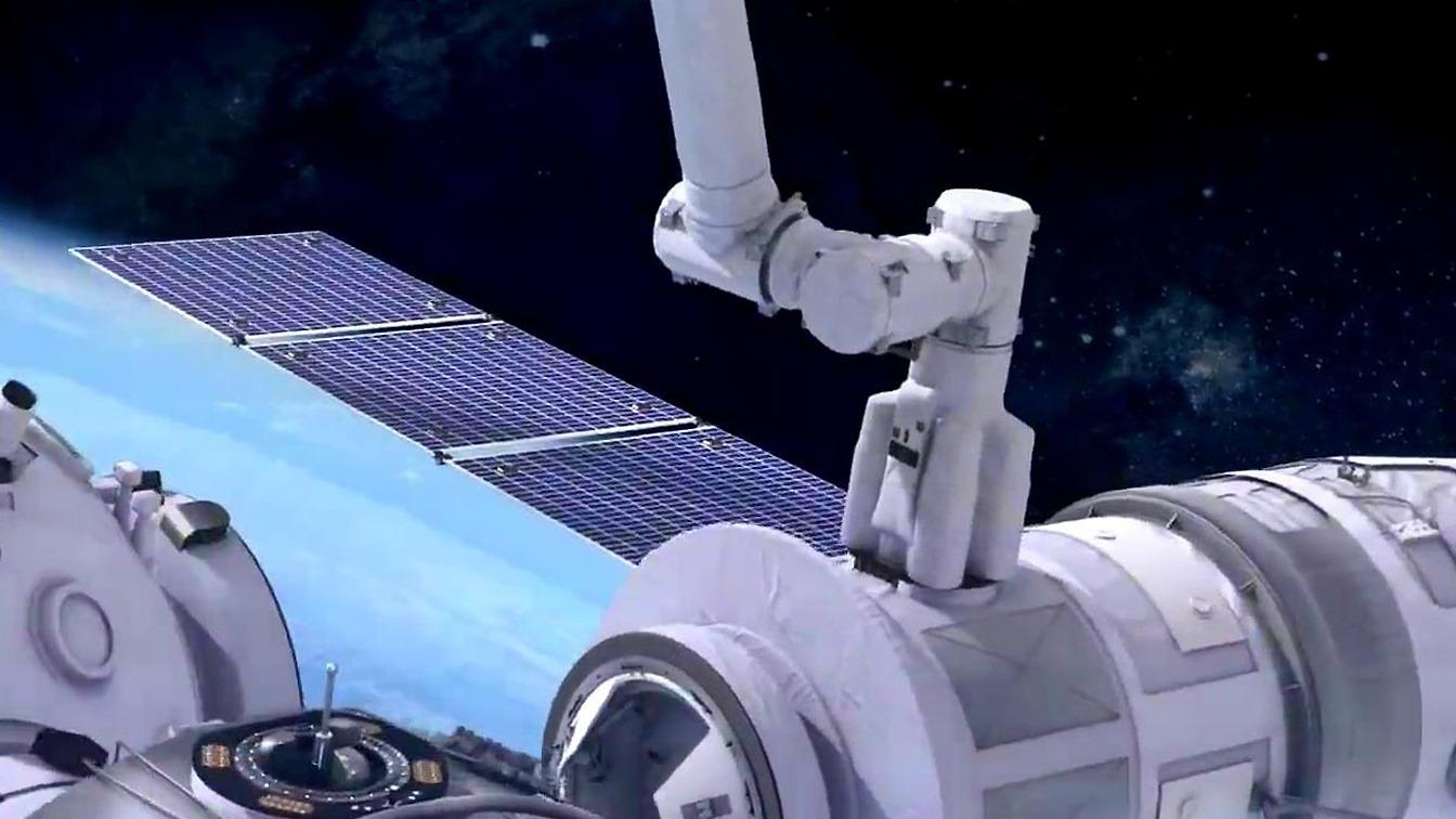 艙外爬行、捕獲飛行器,中國空間站機械臂有多牛?