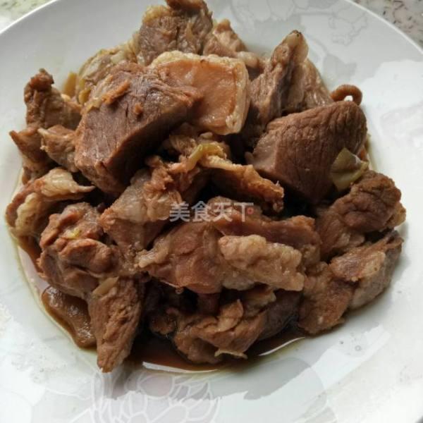 筋头巴脑的羊肉怎么炖好吃?
