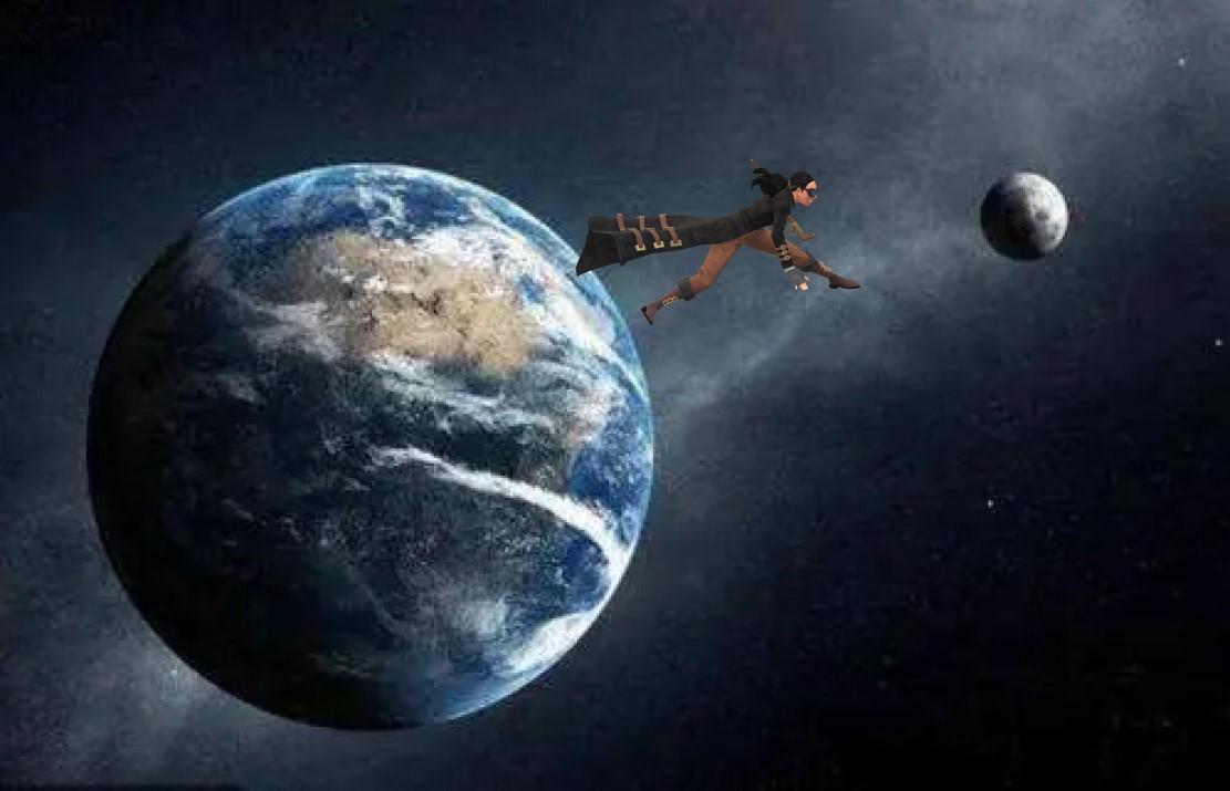 人类去月球要走多久,为啥一定要很快速度,可以慢慢飞过去吗?