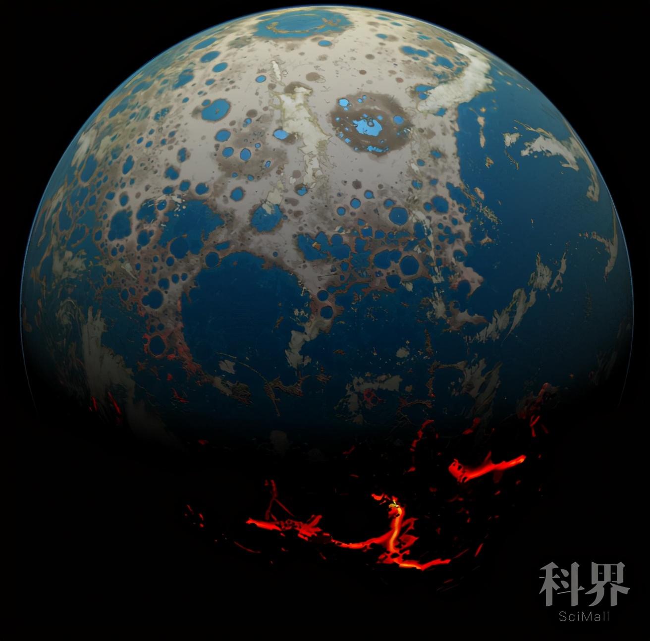 新研究表明:大陆地壳出现时间比此前预计的早5亿年