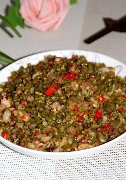 超级开胃的肉沫酸豆角怎么做?