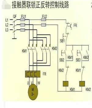 单相电机的工作原理图_单相电容电机原理图
