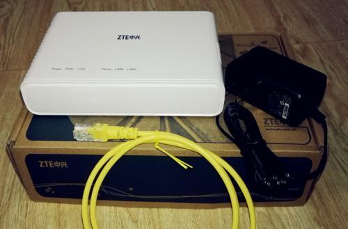 电信送的光猫ZXHN f612是百兆还是千兆的