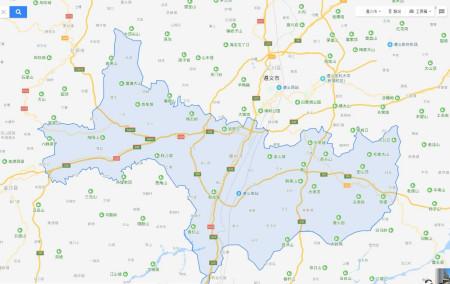 地图上为什么找不到贵州遵义市播州区