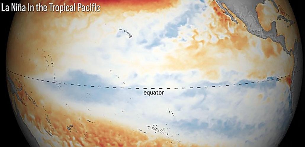 地球降温、冷冬要来了?NOAA:2021年双拉尼娜来袭