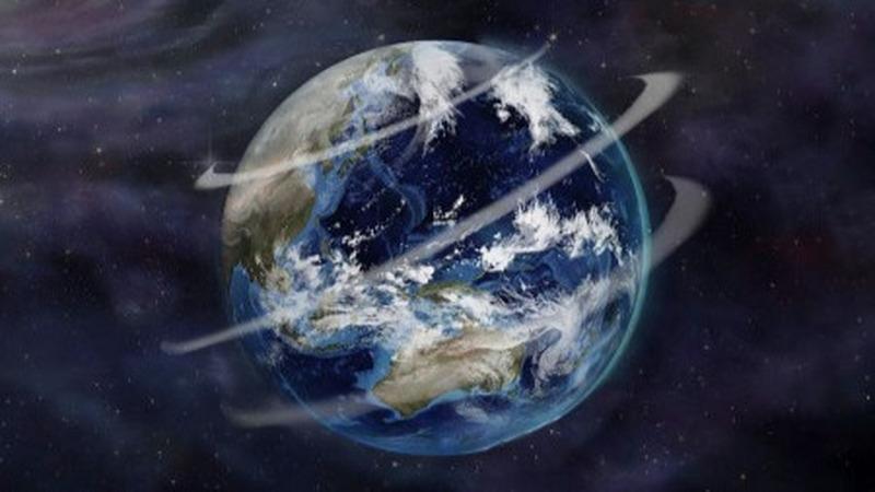 地球转动45亿年的动力源是什么?