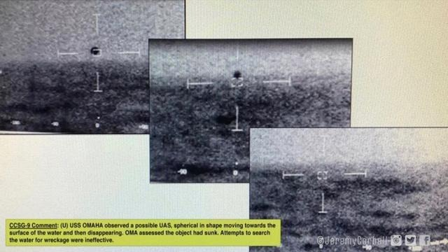 不明飛行物再出現?美國艦隊上空漂浮,形狀如金字塔令人難以捉摸